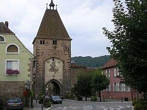 Mutzig - Image: Porte de Strasbourg, Mutzig