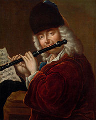 Portrait of a Flautist