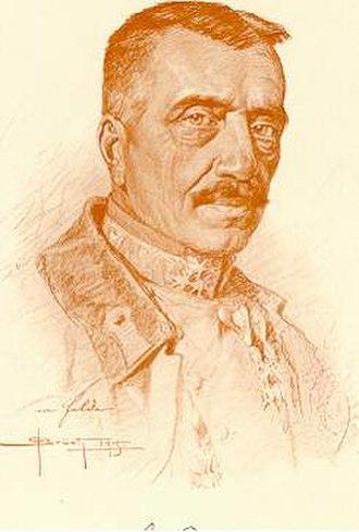 Karl von Pflanzer-Baltin - Image: Portrait Karl von Pflanzer Baltin