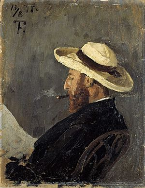 Frederik Collett - Portrait of Frederik Collett by Frits Thaulow.