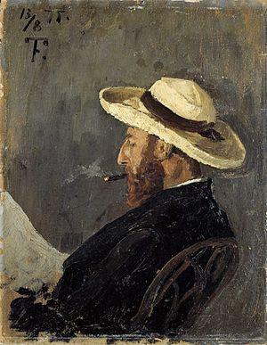 Frederik Collett - Portrait of Frederik Collett by Frits Thaulow.