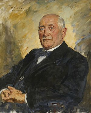John Blackwood McEwen - Painting by Reginald Grenville Eves, 1937