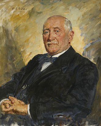 John Blackwood McEwen - Painting by Reginald Eves, 1937