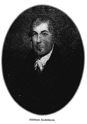 Thomas Marshall (U.S. politician) - Thomas Marshall