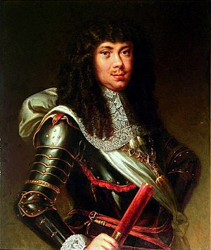 Michał Korybut Wiśniowiecki - King Michael wearing the Order of the Golden Fleece, 18th-century painting