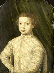 Portrait of a Boy, thought to be Giovanni de' Medici (1543-1562)