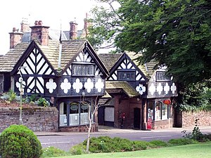 Thornton Hough - Image: Post Office, Thornton Hough geograph.org.uk 1411158
