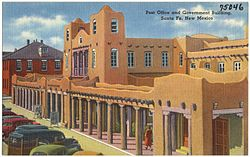 Post Office and Government building, Santa Fe, New Mexico.jpg