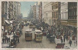 Postcard picture of 23rd Street, Manhattan, Ne...