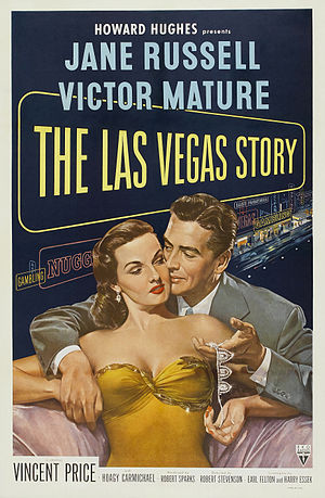 The Las Vegas Story (film) - Theatrical release poster