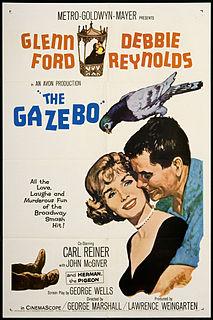 <i>The Gazebo</i> 1959 black comedy film directed by George Marshall