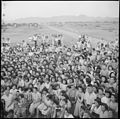 Poston, Arizona. A group of interested spectator evacuees watch an outdoor musical and dramatic sho . . . - NARA - 538564.jpg