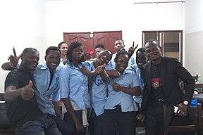 Présentation Wiki Loves Africa à l'ISMA.jpg