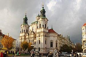 St. Nicholas Church (Staré Město) - Image: Prague (5350712219)