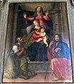Prato, spirito santo, int., ridolfo (o sogliani) e michele di ridolfo del ghirlandaio, madonna col bambino, sant'anna e santi 02.jpg