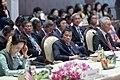 President Duterte, Aung San Suu Kyi and Lee Hsien-loong at 22nd ASEAN-Japan Summit.jpg