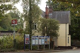 Prestbury railway station