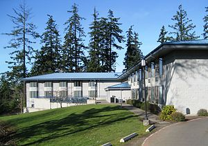 Corban University - Residence hall at the college