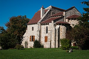 Autry-Issards - The old Benedictine Priory