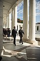 Prime Minister of Italy Matteo Renzi visits Arlington National Cemetery (29803439894).jpg