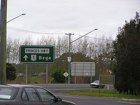 Princes Highway in Moruya NSW (2005)