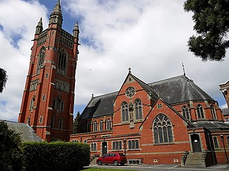 Princethorpe College - Image: Princethorpe College Church (geograph 3501693)