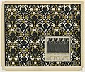 Print, Vorsatz Papier Sternblume (Star Flower Book End Paper), plate 2, in Die Quelle- Flächen Schmuck (The Source- Ornament for Flat Surfaces), 1901 (CH 18670991-2).jpg