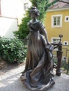 Skulptur, aufgestellt am 27. Mai 2008 in Baden-Baden (Quelle: Wikimedia)