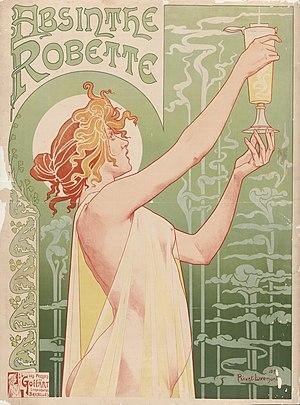 Absinthe - Henri Privat-Livemont's 1896 poster