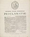 Proclamatie van de schorsing van het besluit van 14 september 1801, RP-P-OB-86.820.jpg