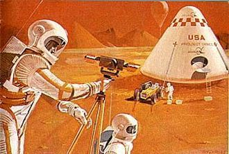 Colonization of Mars - Expedition style crewed mission would operate on the surface, but for limited amounts of time