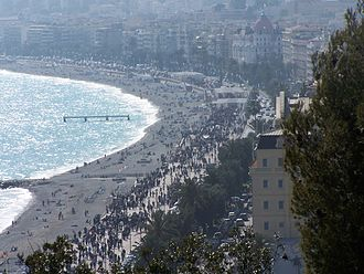 Paris–Nice - Promenade des Anglais, finish location of Paris–Nice.