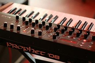 Prophet-5 - Image: Prophet '08 (rear center)