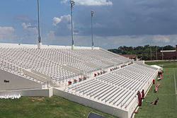 Provost Umphrey Stadium – east side seating