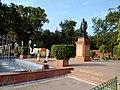 Pt. Govind Ballabh Pant - 10 ft. high Bronze statue near Rail Bhawan, New Delhi. - panoramio.jpg
