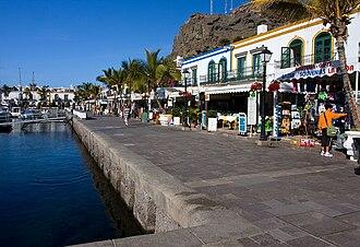 Mogán - Image: Puerto de mogan