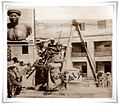 Putting Demerdash Pasha statue in place 1931.jpg