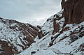 Qazvin - The road of Alamout Castle in winter - panoramio.jpg