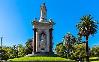Queen Victoria Gardens - Image: Queen Victoria Memorial