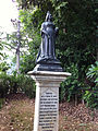 Queen Victoria Statue in Chiang Mai Foreign Cemetery2.jpg