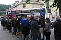 Queuing for the park and ride in Bath - First 35113 (SO15CUW).JPG