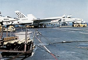 RA-5C RVAH-11 on USS Constellation (CVA-64) c1972.jpg