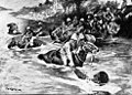 RESCUING A DROWNING TROOPER OF THE 13TH HUSSARS NEAR THE FERRY CROSSING.jpg