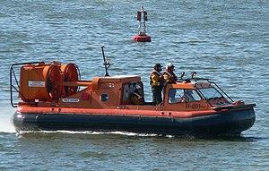 RNLI hovercraft lifeboat - RNLI Hovercraft H-001