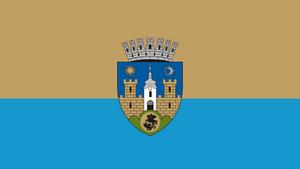 Sfântu Gheorghe - Image: ROU CV Sfantu Gheorghe Flag
