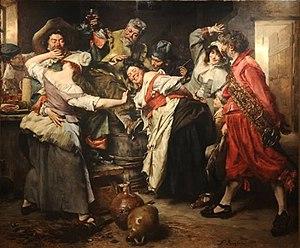 Ferdinand Roybet - Image: ROYBET Main chaude 1865