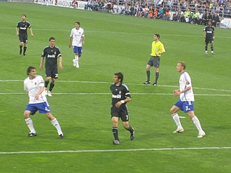 Raúl (footballer) - Raúl in his last match with Real Madrid against Real Zaragoza