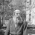 Rabbi Weingarten, type van een oosteuropese schriftgeleerde, Bestanddeelnr 255-1400.jpg