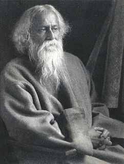 Rabindranath Tagore Bengali poet and philosopher
