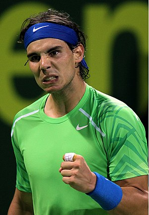 Tennis at the 2008 Summer Olympics - Rafael Nadal- the 2008 Olympics tennis Men's Champion.